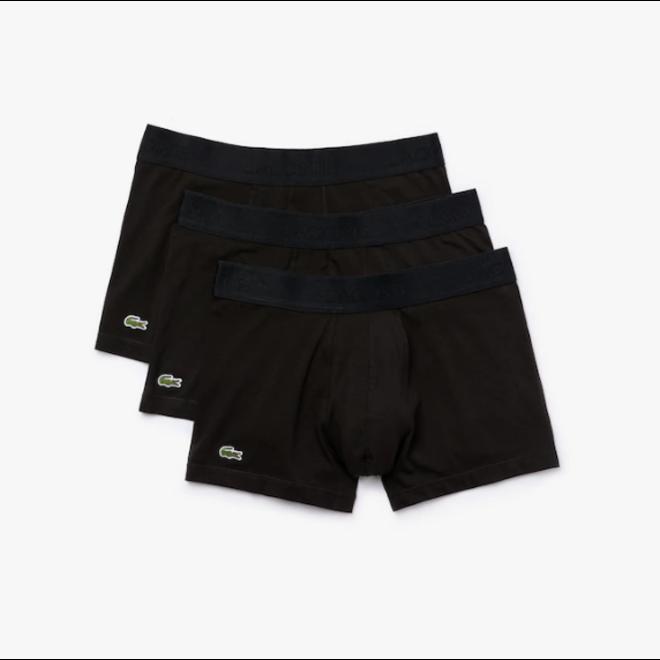Lacoste Pack van 3 Boxer Shorts 5H3407 Zwart
