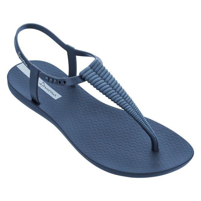 Class Glam Dames Slipper Blauw