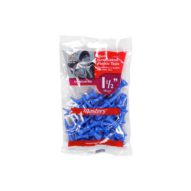 Masters Blue Graduated Plastic Tees