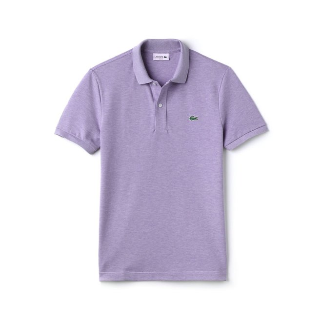 Lacoste Heren Polo Slim Fit Purple