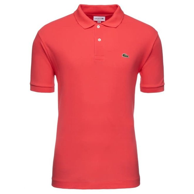 Lacoste Heren Polo Slim Fit Coral