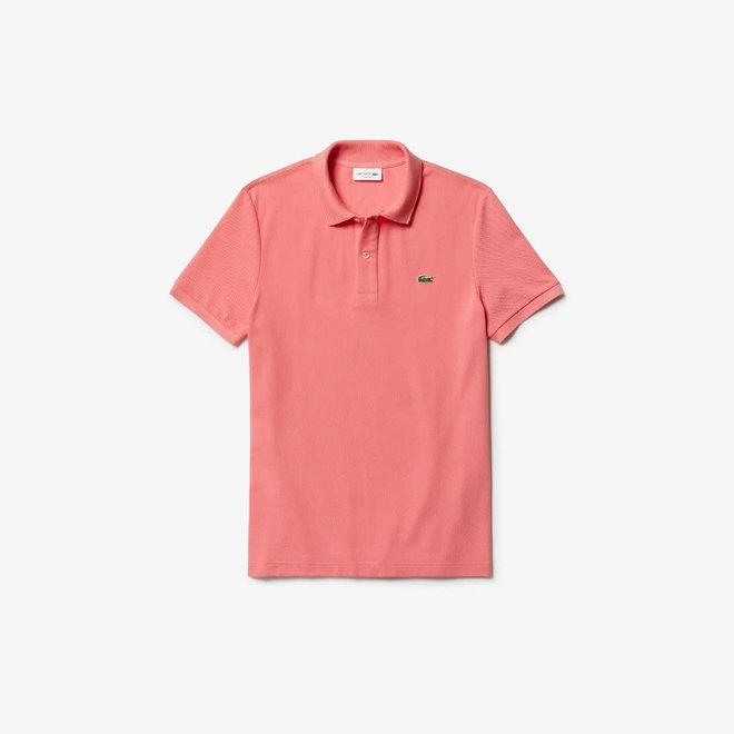 Lacoste Heren Polo Slim Fit Peach