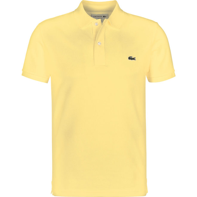 Lacoste Heren Polo Slim Fit Geel