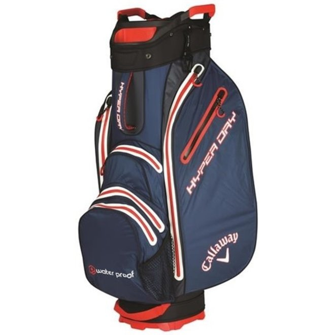 Callaway Golf Cartbag Hyper Dry Blauw Wit Rood
