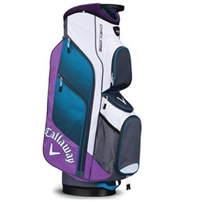 Callaway Golf Cartbag Chev Org Wit Paars Blauw