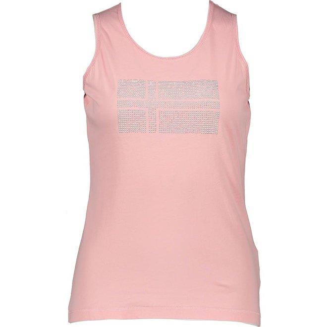 Napapijri Sefro Top Print Roze