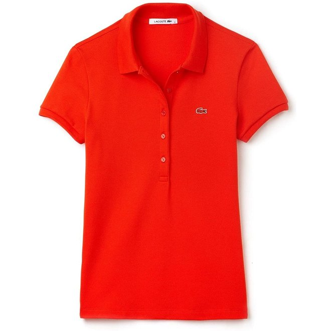 Lacoste Dames Polo Oranje