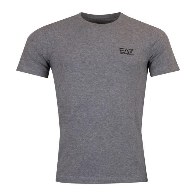 EA7 Armani T-Shirt Heren Ronde hals Grijs