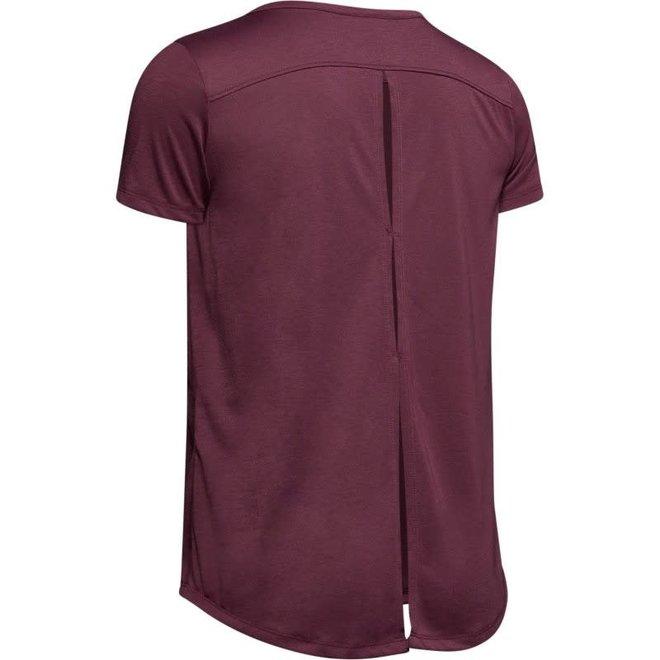 Under Armour Dames Whisperlight Shirt Zwart