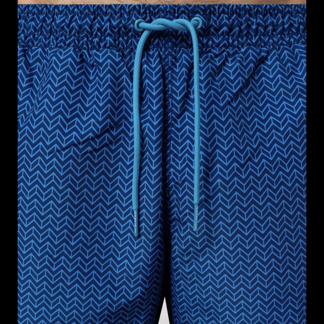 Napapijri Vail 3 Zigzag Blue Fp8 Heren Zwembroek
