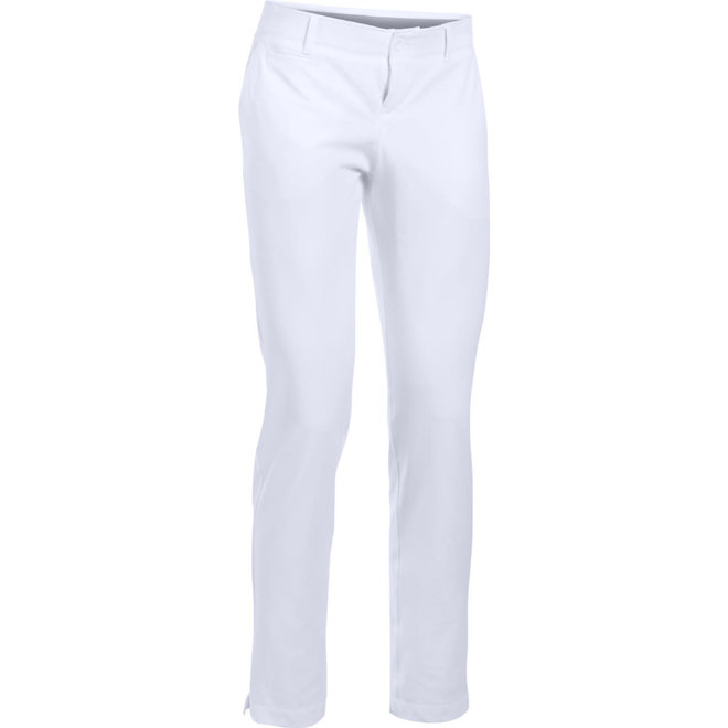 Under Armour Dames GolfBroek Links Pants White