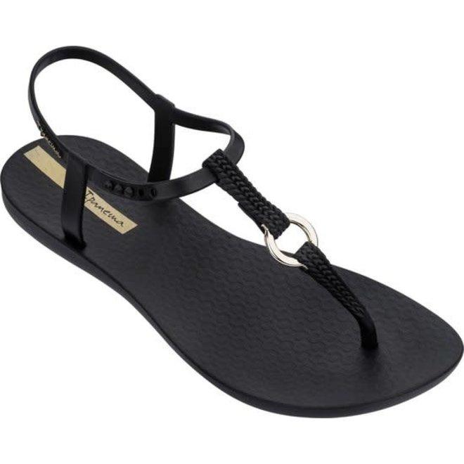 Charm Dames Slipper Zwart