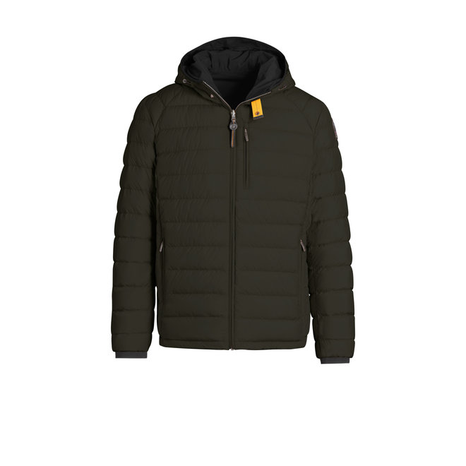 Parajumpers Reversible Man Jacket Sycamore-Black