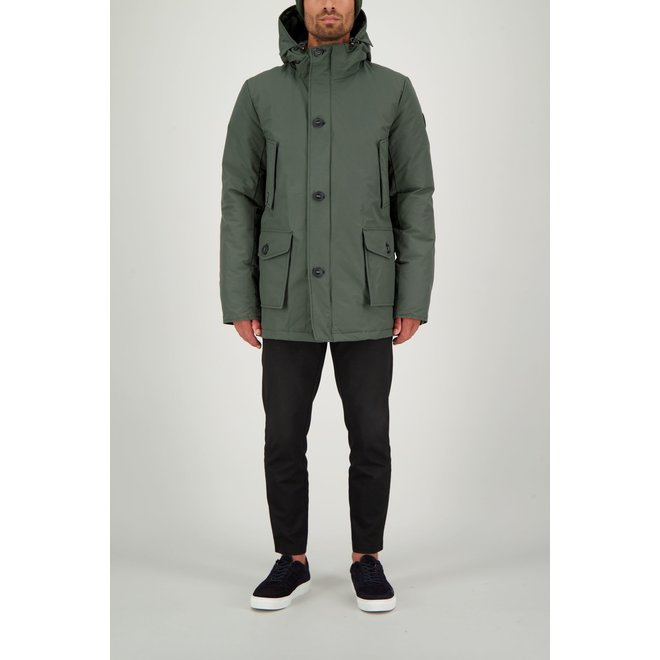 Airforce Classic Parka Ice Heren Jack Duffelbag