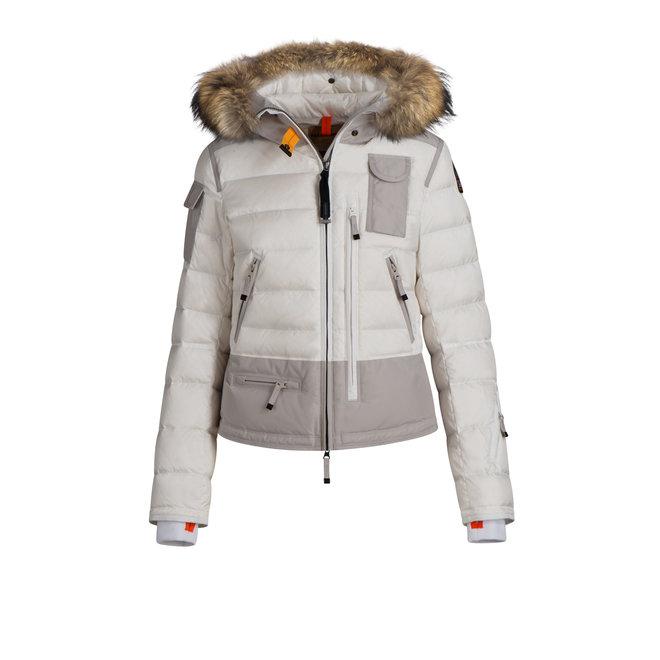 Parajumpers Skimaster Women Jacket Off White Silver Grey