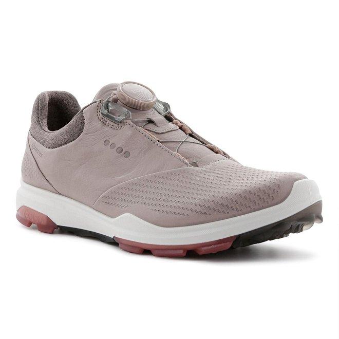 Ecco Dames Golf Biom Hybrid 3 Grey RosePetal