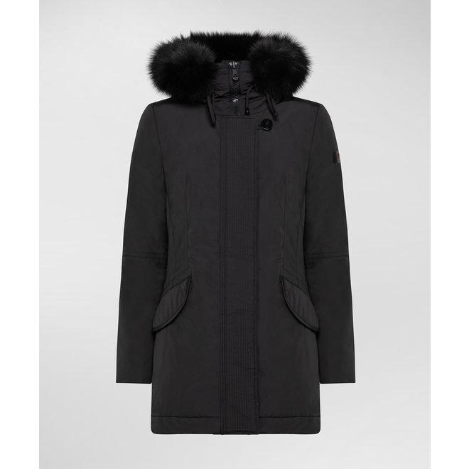 Peuterey Marr Mx Fur Womens Parka Black