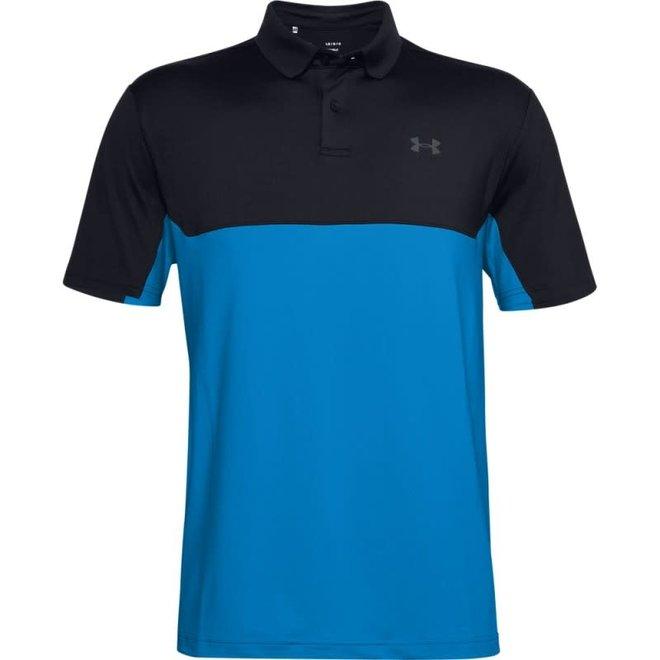 Under Armour Golf Performance Polo 2.0 Colorblock Blue/Black