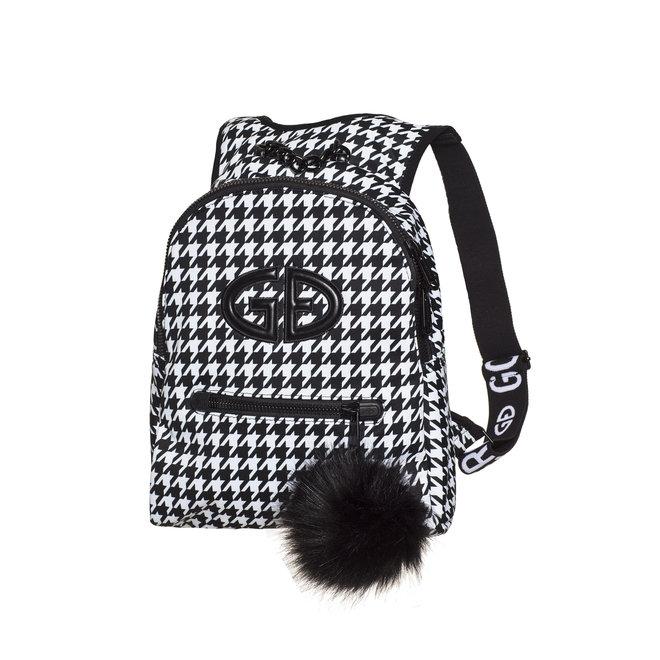 Goldbergh Handy Backpack Fur White/Black