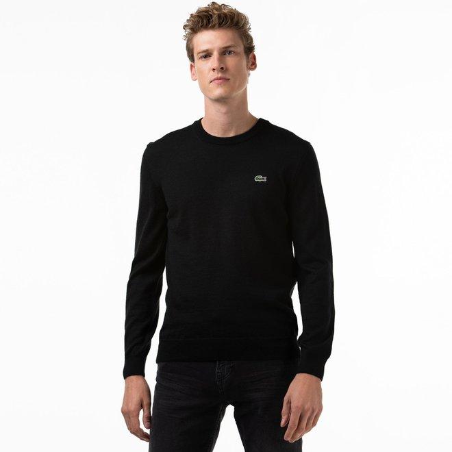 Lacoste WInter Men's Sweater Rond Neck Black