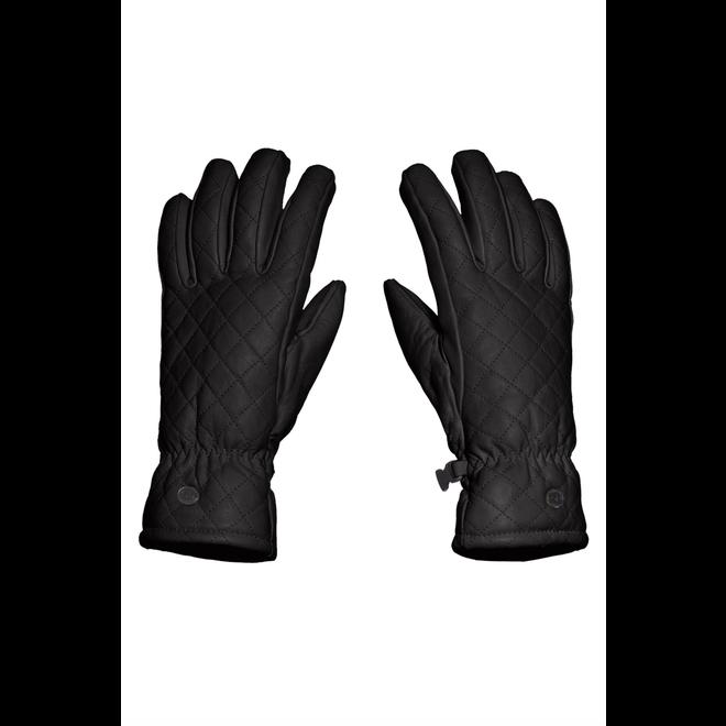 Goldbergh Nishi Dames Handschoenen Zwart