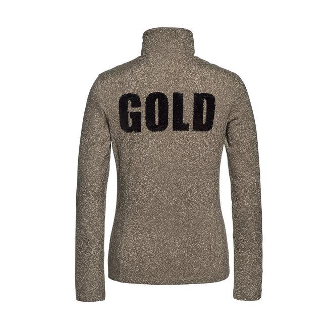 Goldbergh Sparkle Dames Pully Gold