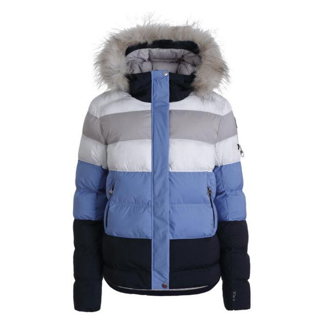 Luhta Elisenvaara Woman Wintersport Jacket White/Blue