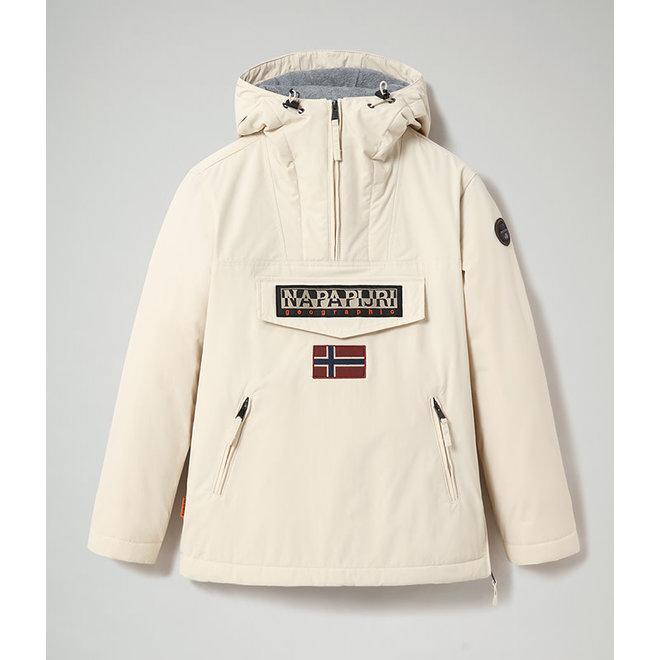 Napapijri Rainforest Woman Winter Jacket Whitecap Gray