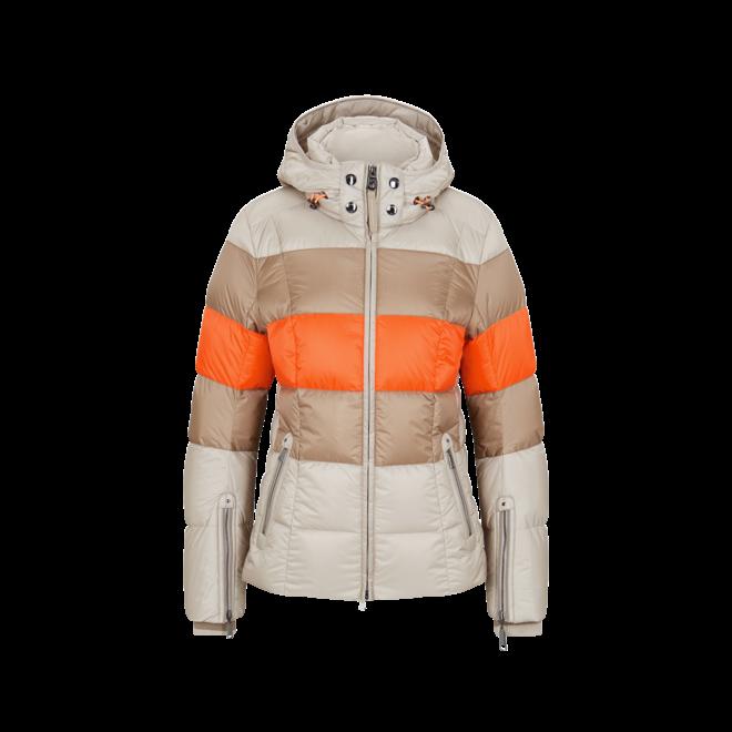 Bogner Dames Ski Jas Colly-D Beige/Oranje