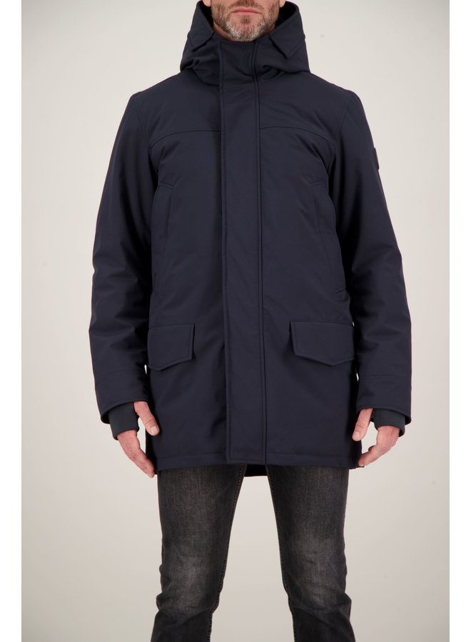 Airforce Snow Parka Heren Navy/552