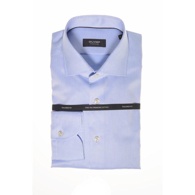 Olymp Savio Signature Tailored Fit Lichtblauw