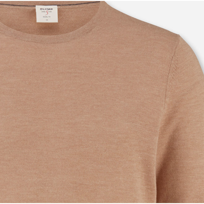 Olymp Heren Level Five Body Fit Merino Silk Beige