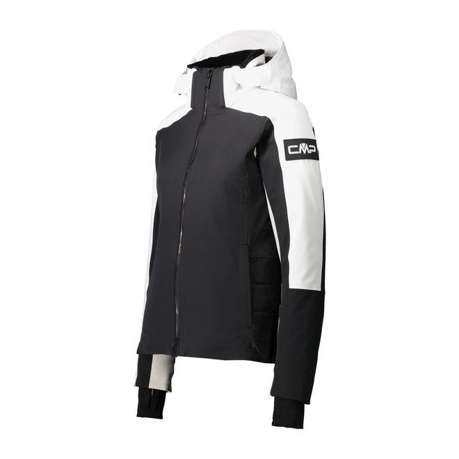 CMP Dames Ski Jacket Wit/Zwart