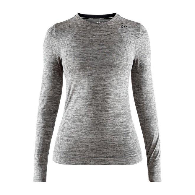 Craft Dry Fuseknit Comfort Roundneck Woman Grey Melange