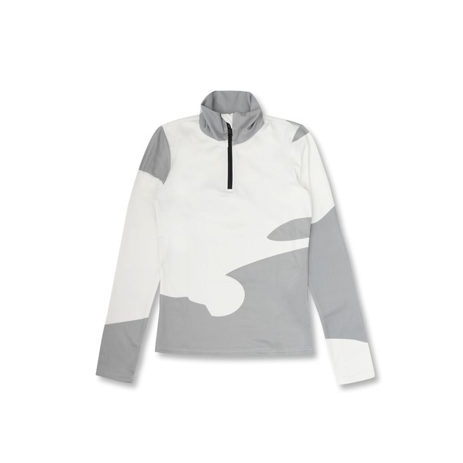 Airforce Squaw Vally Dames Ski Pully Camo White