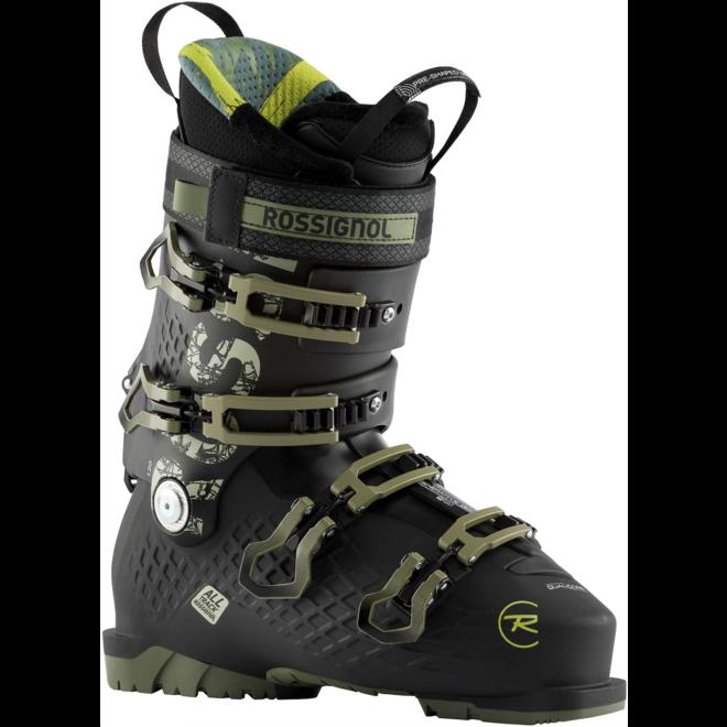 Rossignol Alltrack 120 Skischoen Zwart/Groen 102MM
