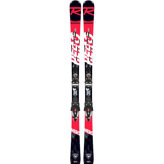 Rossignol Hero Elite MT Carbon Race Ski + NX 12 Binding Zwart/Oranje