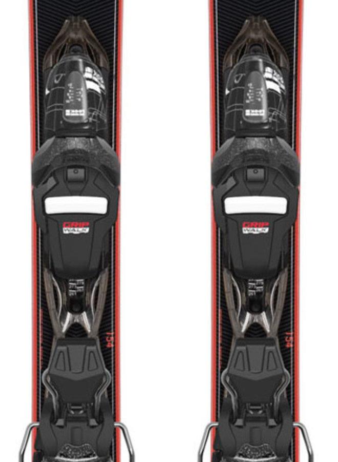 Rossignol Nova 4 Dames Ski + Xpress w 10 Binding Zwart
