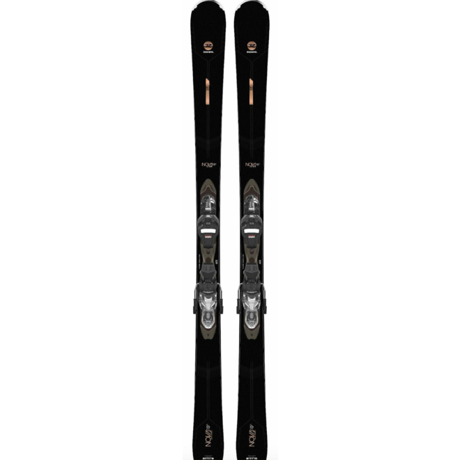 Rossignol Nova 10 TI Dames Ski + Xpress w 11 Binding Zwart