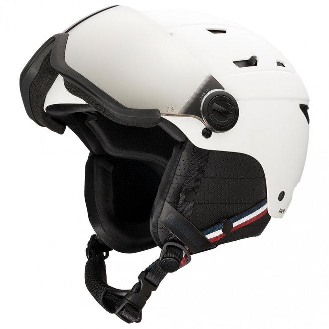 Rossignol Allspeed Visor Helm Strato Wit