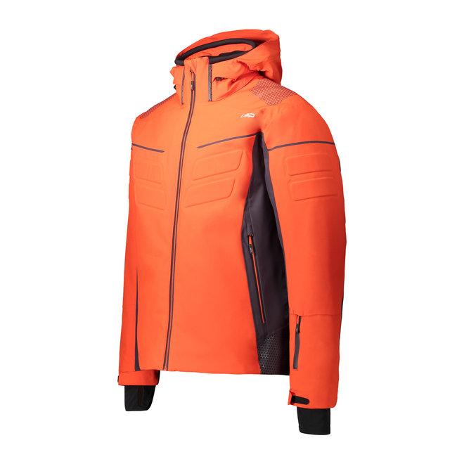 CMP Heren Ski Jas Oranje/Rood