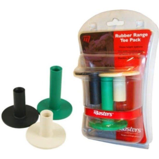 Masters Rubber Range Tee Pack