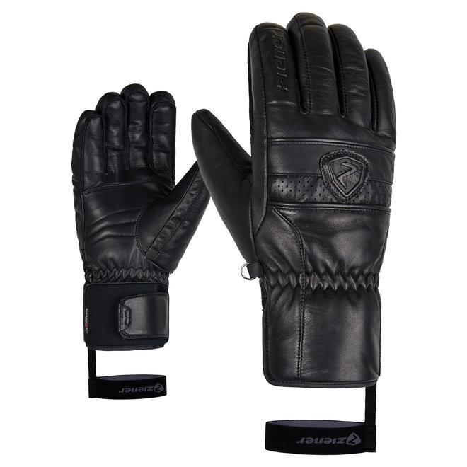 Ziener Gidor AS(R) PR Heren Ski Handschoen Zwart