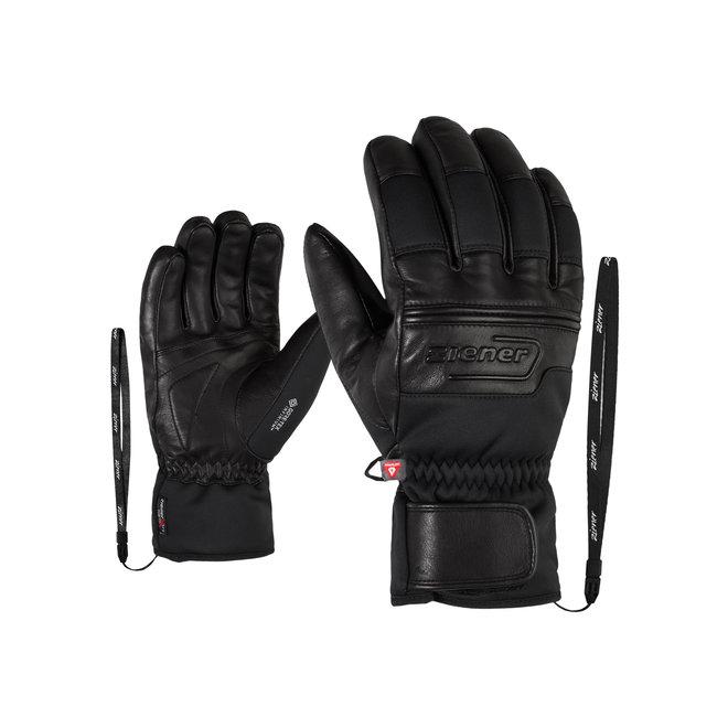 Ziener Gippo GTX INF PR Heren Ski Handschoen Zwart