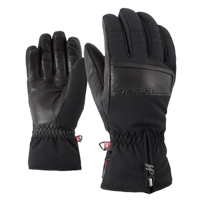 Ziener Goloso PR Heren Ski Handschoen Zwart