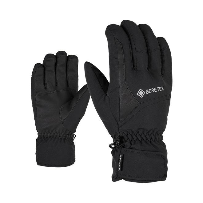 Ziener Garwen GTX Heren Ski Handschoen Zwart
