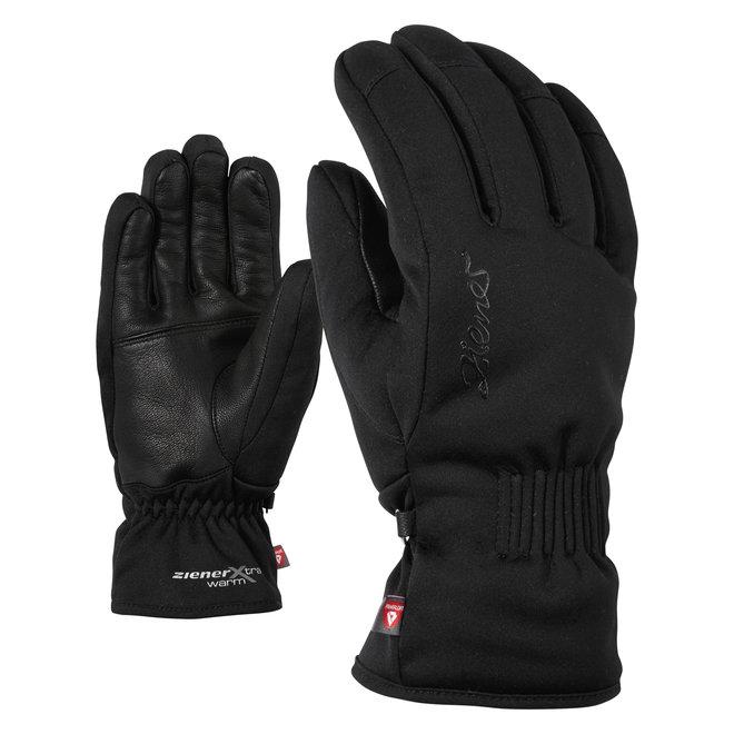 Ziener Karine AS(R) PR Dames Ski Handschoen Zwart