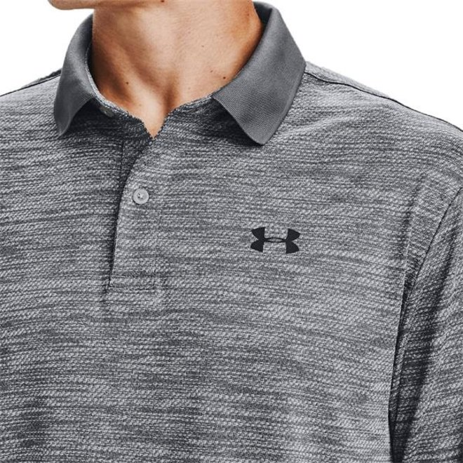 Under Armour Performance Long Sleeve Polo Steel Graphite