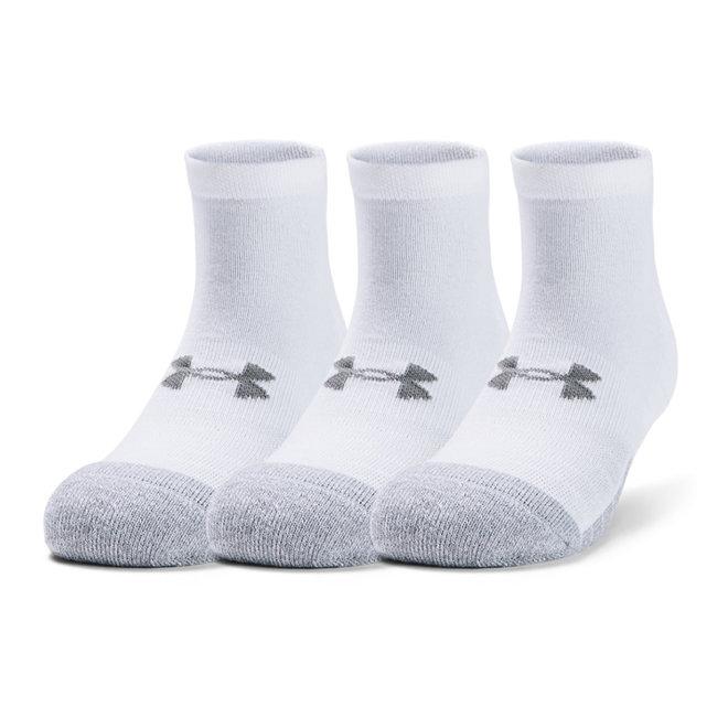 Under Armour Heatgear Low Cut Socks white
