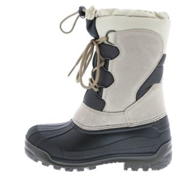 Olang Heren Snowboots Veter Rub Beige